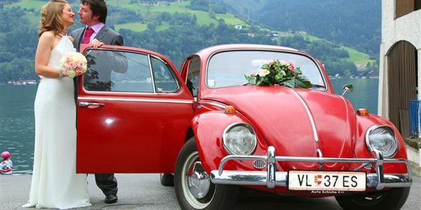 Nostalgiefahrt mit VW-Käfer 1/2 Tagestour