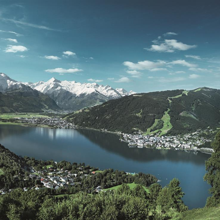 Zell am See mountain panorama