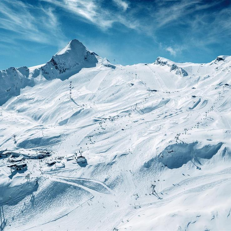Kitzsteinhorn Gletscherlifte Panoramablick