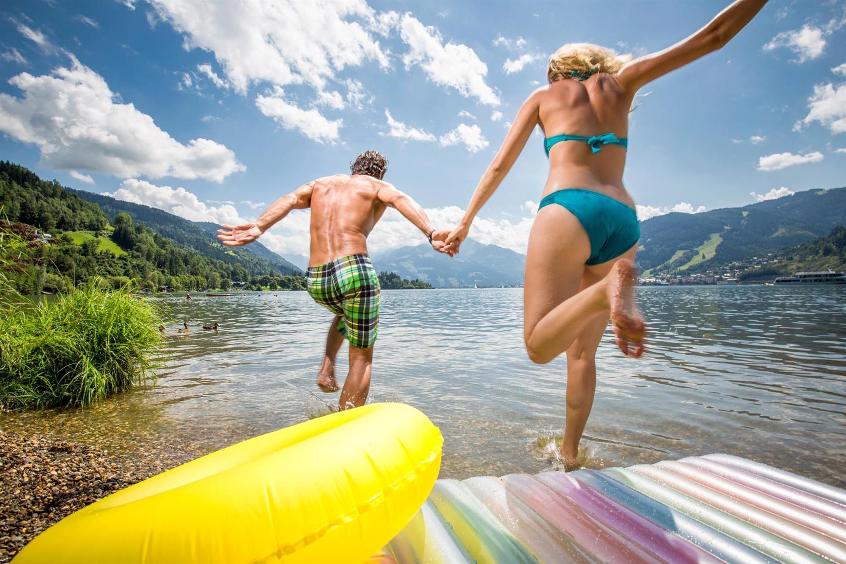 Romantic summer holidays